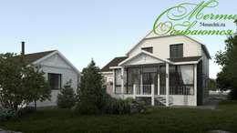 Разумное использование пространства: Дома в . Автор – Компания архитекторов Латышевых 'Мечты сбываются'