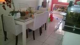 P2 Arquitetos Associados: tropikal tarz tarz Yemek Odası