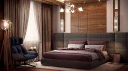 Спальня: Спальни в . Автор – Архитектурная мастерская Бориса Коломейченко