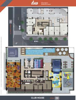 Planos Generales:  de estilo  por HMA Desarrolladores De Proyectos