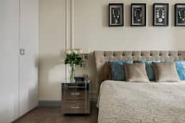 Dormitorios de estilo rústico por Надежда Каппер