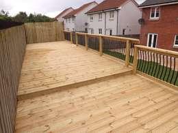 moderner Garten von Bradshaw contracts ltd