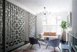 modern Living room by Emergent Design Studios