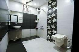 Attached Bathroom: modern Bathroom by ZEAL Arch Designs