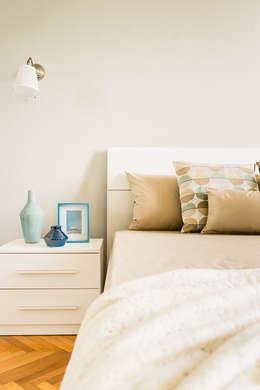 Projekty,  Sypialnia zaprojektowane przez Francesca Greco  - HOME Philosophy