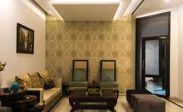 Singh Residence: modern Living room by StudioEzube