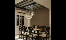 Singh Residence: modern Dining room by StudioEzube