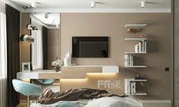 Projekty,  Sypialnia zaprojektowane przez 'PRimeART'
