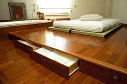 Dormitorios de estilo asiático por ROBERTA DANISI ARCHITETTO