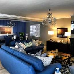 De Kelders Residence Hermanus Western Cape: modern Living room by CS DESIGN