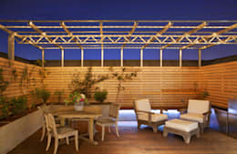 Modern DC Patio Lighting : modern Houses by Hinson Design Group