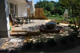 Jardin de style de stile Rural par NIE GESEHENE GÄRTEN®