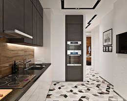 Projekty,  Kuchnia zaprojektowane przez GM-interior
