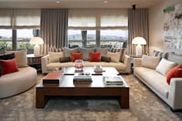 Molins Interiors: modern tarz Oturma Odası