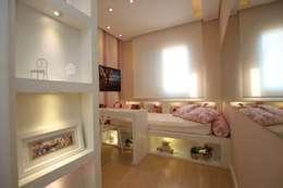 Детские комнаты в . Автор – Pricila Dalzochio Arquitetura e Interiores