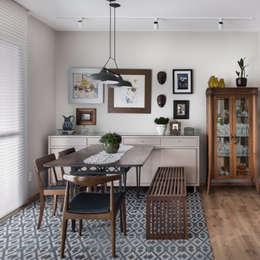 Столовые комнаты в . Автор – Alma em Design