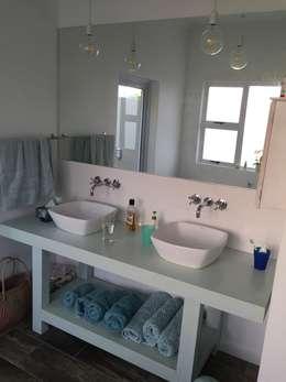 View of new vanity:   by Urban Dwellers Design Studio