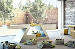 ZED EXPERIENCE versione cucina Home: Cucina in stile in stile Eclettico di ZED EXPERIENCE - indoor & outdoor kitchen