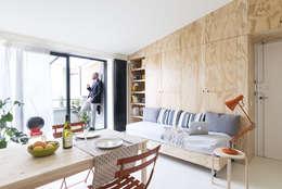 رہنے کا کمرہ  by studio wok