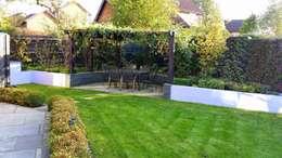 庭院 by Linsey Evans Garden Design