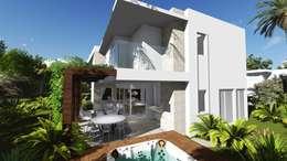 Дома в . Автор – Renata Matos Arquitetura & Business