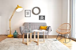 scandinavian Living room by Karin Armbrust - Home Staging