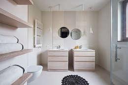 Salle de bains de style  par Pracownia Projektowa Hanna Kłyk