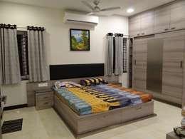 ห้องนอน by Hasta architects