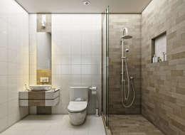 Baños de estilo moderno por LOFT ESTUDIO arquitectura y diseño