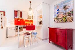 rustic Kitchen by alma portuguesa