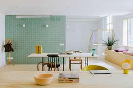 Oficinas y Tiendas de estilo  por nimú equipo de diseño