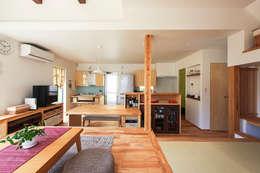 modern Living room by 祐建築設計事務所
