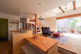 modern Dining room by 祐建築設計事務所