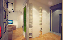 Walk in closet de estilo  por Indika-art