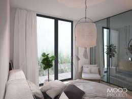 scandinavian Bedroom by MOODPROJECT