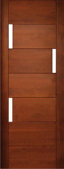 Dise os de puertas de madera para interiores puertas para for Modelos de puertas para interiores