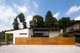 宇都宮・中岡本の家: 中山大輔建築設計事務所/Nakayama Architectsが手掛けた庭です。