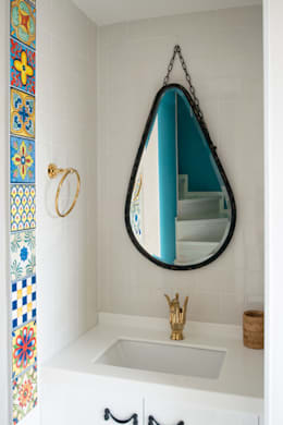 modern Bathroom by 건축사사무소 재귀당