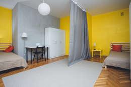 industrial Bedroom by Kraupe Studio