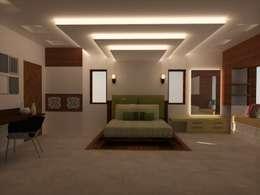Master Bedroom: minimalistic Bedroom by Urban Shaastra