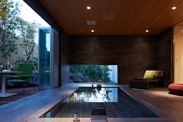 moderne Badezimmer von Mアーキテクツ|高級邸宅 豪邸 注文住宅 別荘建築 LUXURY HOUSES | M-architects