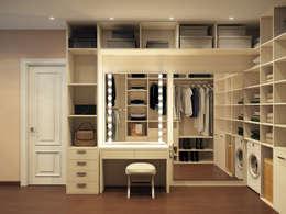 Projekty,  Garderoba zaprojektowane przez Alyona Musina