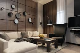 modern Living room by Alyona Musina