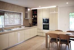 Cozinhas minimalistas por ASVS Arquitectos Associados