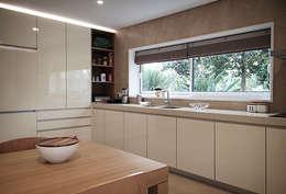 مطبخ تنفيذ ASVS Arquitectos Associados