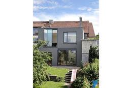 Haus FTS: moderne Häuser von yohoco - Eure Architekten