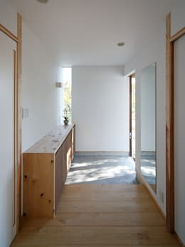 Ingresso & Corridoio in stile  di 祐建築設計事務所