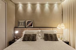 غرفة نوم تنفيذ LEDS Arquitetura