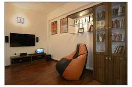 Media Room:  Artwork by Navmiti Designs