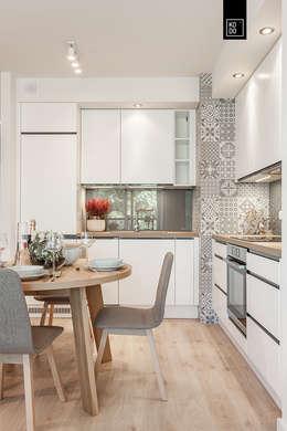 modern Kitchen by Pracownie Wnętrz Kodo